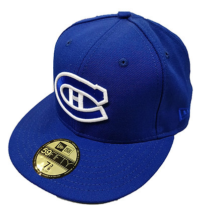 Men's Montreal Canadiens Dark Navy / Royal Blue New Era 59FIFTY Fitted Hat