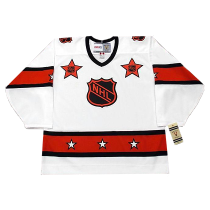 Men's Montreal All-star CCM White Jerseys