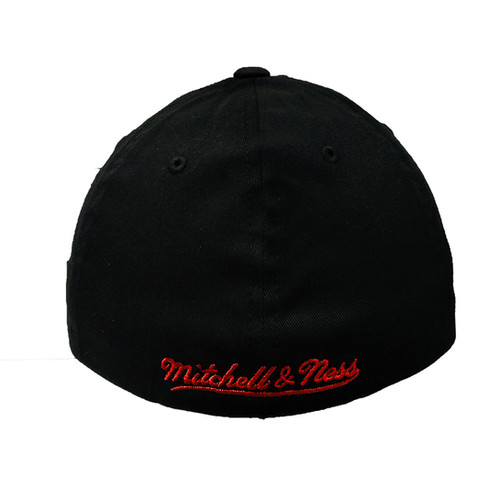 640e0e363fe Toronto Raptors Mitchell and Ness Team Flex Fitted Hat