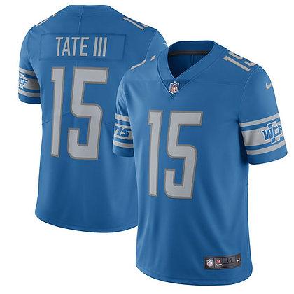 Men's Detroit Lions Golden Tate Nike Blue Limited Jersey
