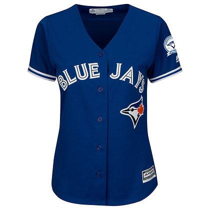 Women's Toronto Blue Jays Majestic Royal Alternate Cool Base Jersey