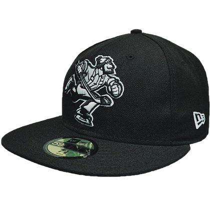 Men's Vancouver Canucks Full Body Johnny Canuck White/ Black 59FIFTY Fitted Hat