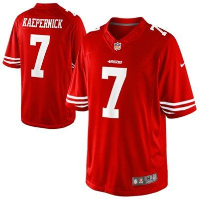 4c25139b6 Get this San Francisco 49ers Colin Kaepernick Limited jersey from Nike and  show off your team spirit. It features stitched San Francisco 49ers and  Colin ...
