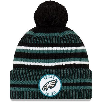 Men's Philadelphia Eagles New Era Midnight Green/Black 2019 NFL Sideline Home Re