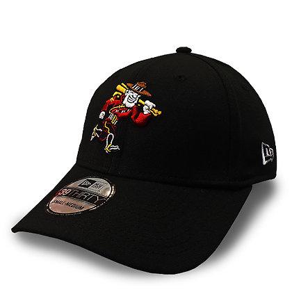 Men's Vancouver Canadians New Era Mountie Black 39THIRTY Flex Hat