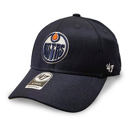 Edmonton Oilers '47 Brand MVP Adjustable Hat