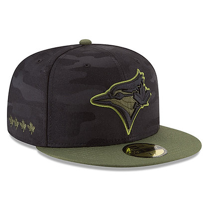 Toronto Blue Jays New Era 2018 Memorial Day 59FIFTY Fitted Hat