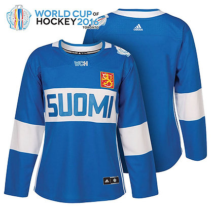 Men's Finland Adidas Jersey from World Cup of Hockey