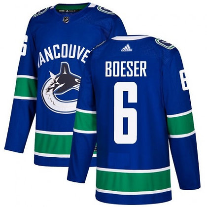 Men's Vancouver Canucks Brock Boeser adidas NHL Authentic Pro Home Jerse
