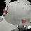 Thumbnail: Vancouver Canadians New Era 39Thirty Grey Flex hat
