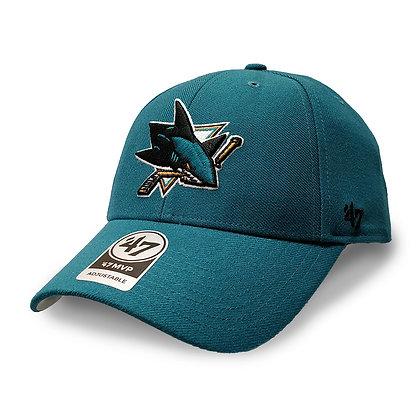 San Jose Sharks '47 Brand MVP Adjustable Hat
