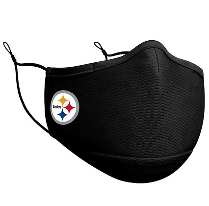 Adult Pittsburgh Steelers New Era Black On-Field Face Mask