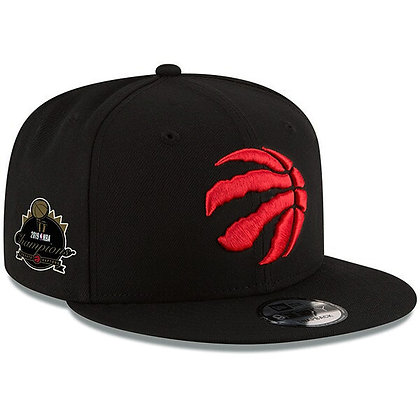 Toronto Raptors Red Claw 2019 Final Champions Side Patch New Era Black 9FIFTY