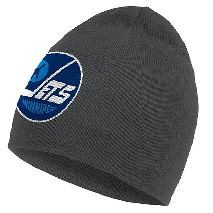 Winnipeg Jets Reverse Retro Grey adidas Cuffed Beanie / Toque