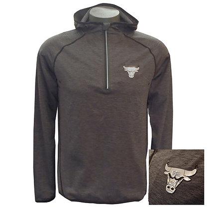 Men's Chicago Bulls Breathable Running/Jogging Hoodie
