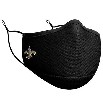 Adult New Orleans Saints New Era Black On-Field Face Mask