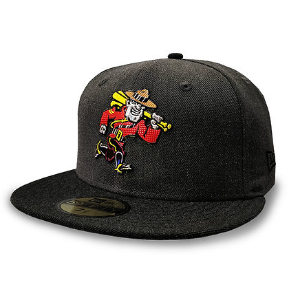 Vancouver Canadians New Era Liquid Metal Mountie 2 Tone Grey 59FIFTY Fitted Hat