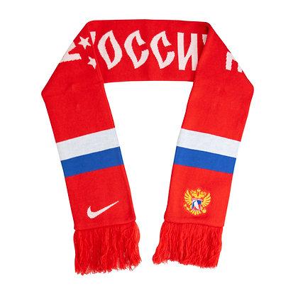 Team Russia 2019 IIHF WJC Nike Jacquard Knit Scarf