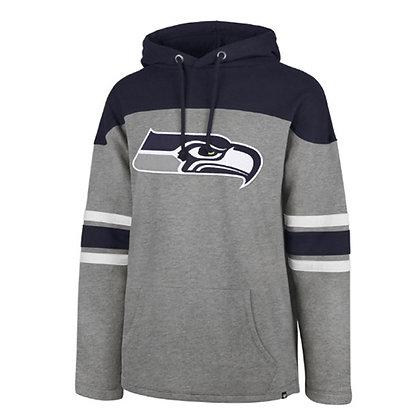 Men's Seattle Seahawks fleece Huron Hoodie '47 Brand NFL