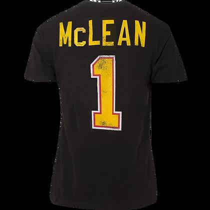 Men's Vancouver Canucks McLane Gray OTH Alumni Flying Skate Yellow T-shirt