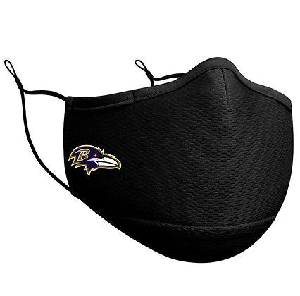 Adult Baltimore Ravens New Era Black On-Field Face Mask