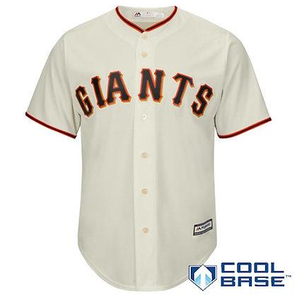 Men's San Francisco Giants Majestic Cream Alternate Cool Base Jersey