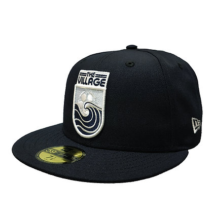 """Men's Vancouver Whitecaps New Era """"The VIllage"""" Navy 59FIFTY Fitted Hat"""