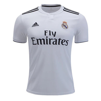 Men's Real Madrid adidas Home Jersey 18/19