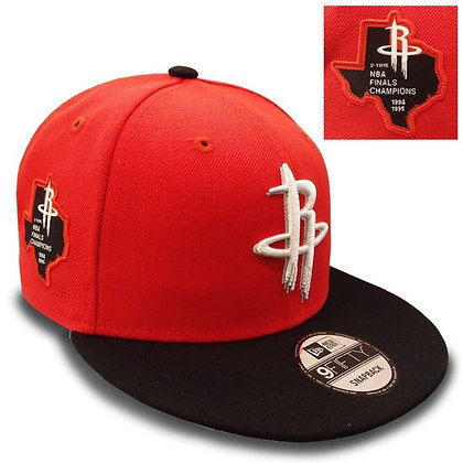 Men's Houston Rockets New Era Side Stated 9FIFTY Snapback Hat