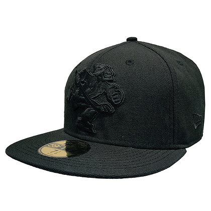 Men's Vancouver Canucks Full Body Johnny Canuck All Black 59FIFTY Fitted Hat