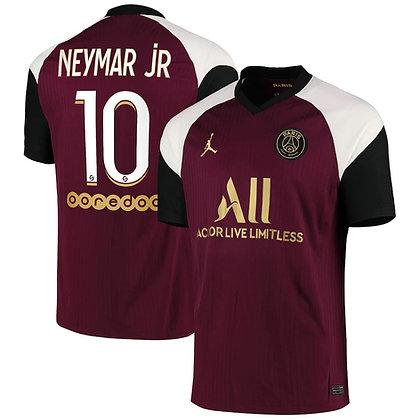 Men's Paris Saint-Germain Neymar JR Nike Third Jersey 2020/21