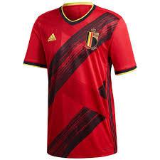 Men's Belgium Home adidas Euro 2020 Blank Jersey