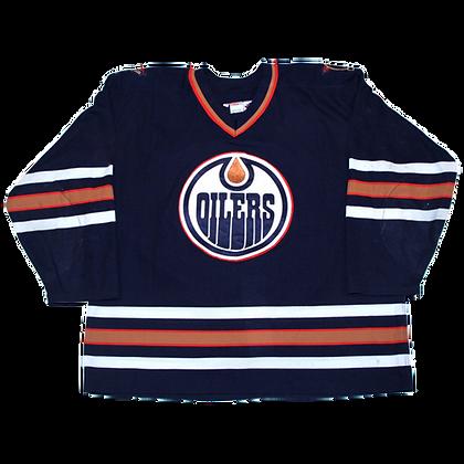 Men's Edmonton Oilers CCM Navy Jersey
