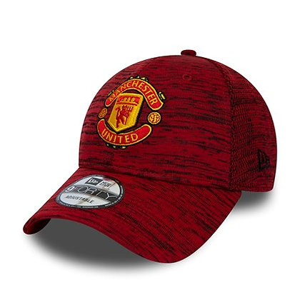 Manchester United New Era Engineered Red 9FORTY Adjustable Hat
