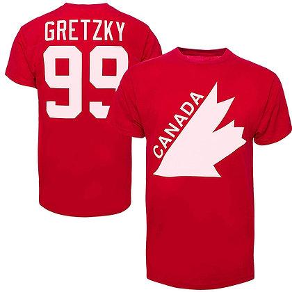 Men's Wayne Gretzky Team Canada Old Time Hockey T-shirt