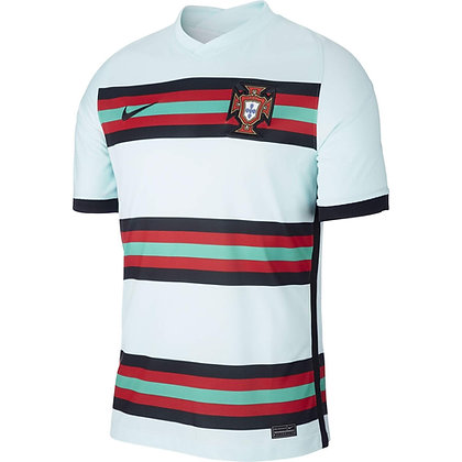 Men's Portugal Stadium Away Nike Euro 2020 Blank Jersey