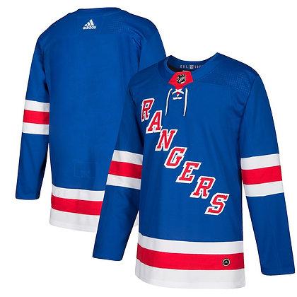 Men's New York Rangers adidas adizero Blue Auth. Pro Player Jersey