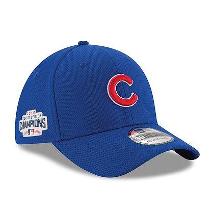 Chicago Cubs 2018 World Series Champions New Era Royal 39THIRTY Flex Hat