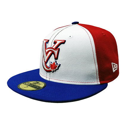 Men's Vancouver Canadians New Era 2000's VC Logo Pinwheel 59FIFTY Fitted Hat