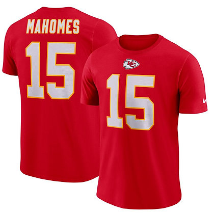 Men's Kansas City Chiefs Patrick Mahomes Nike Scarlet Player Pride 3.0 T-Shirt