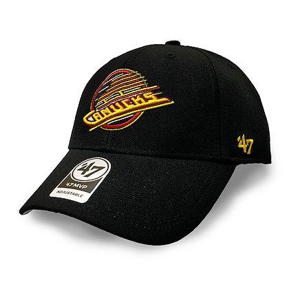 Vancouver Canucks Skate '47 Brand MVP Adjustable Hat