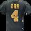 Thumbnail: Men's Boston Bruins Bobby Orr #4 OTH Dark Gray T-shirt