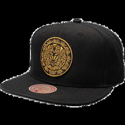 Men's Vancouver Grizzlies Gold Team Logo Snapback Hat