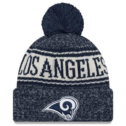 Men's LA Rams New Era 2018 Sideline Official Sport Knit hat