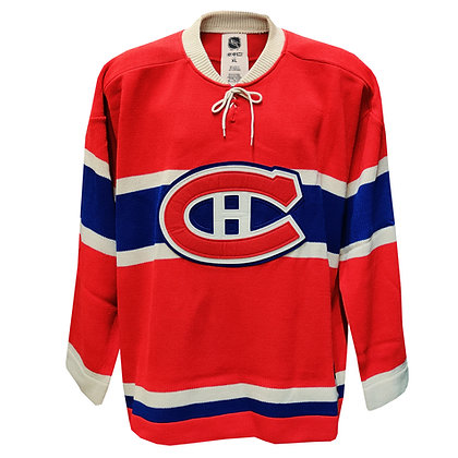Men's Montreal Canadiens CCM Limited Edition Crew Sweater