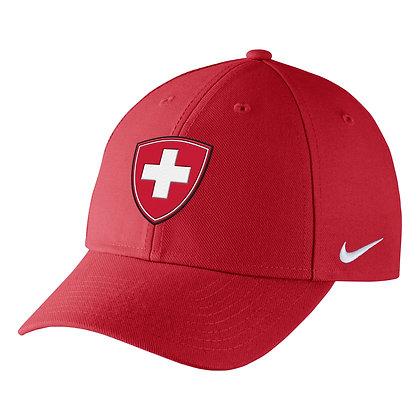 Team Switzerland 2019 IIHF WJC Nike DRI-FIT Adjustable Hat