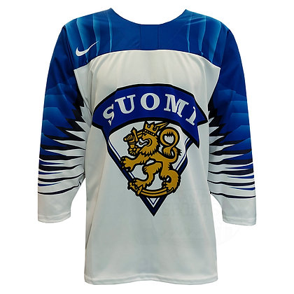 Men's Team Finland 2019 IIHF World Junior Championship Replica White Jersey