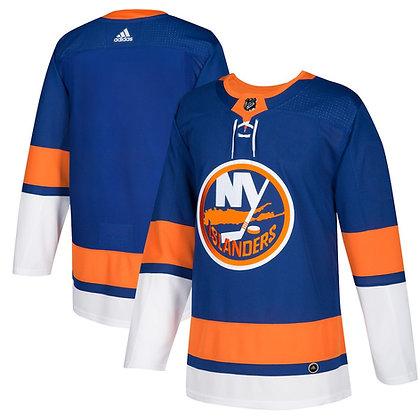 Men's New York Islanders adidas adizero Blue Auth. Pro Player Jersey