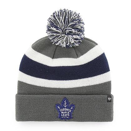 Toronto Maple Leafs '47 Brand Charcoal Breakaway Toque / Beanie