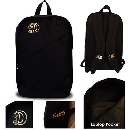 LA Dodgers New Era Metal Framed Logo Backpack